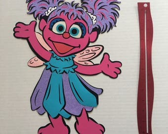 16 inches tall abby cadabby from sesame street birthday decoration