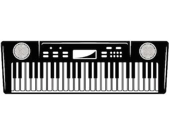 Keyboard clipart | Etsy