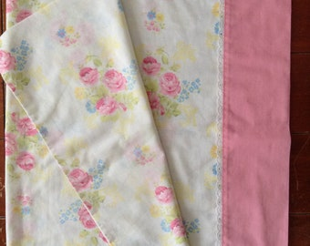 Pretty in Pink SEARS Vintage pillow case