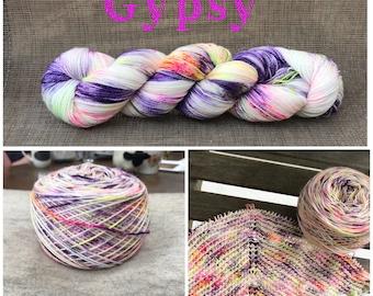 Gypsy Hand-Dyed Yarn