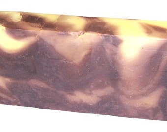 Vanilla and Coconut Soap Slice, Olive Oil Soap, SLS Free, Paraben Free, Exfoliating, Soap Slice, Bath, Soap Bar, Gift for her for him.