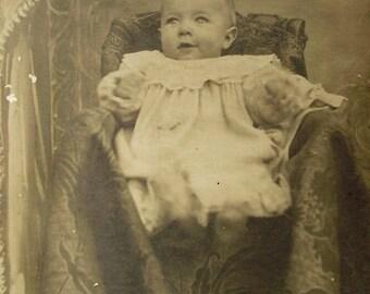 French Antique Baby Photo (Société Lumière, Lyon, France)