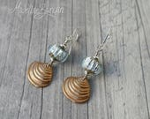 Bronze Seashell and vinta...