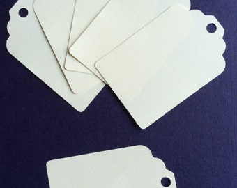 20 Ivory gift tags