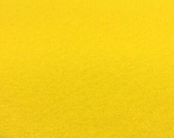 Yellow Felt Sheets - 6 pcs - Rainbow Classic Eco Fi Craft Felt Supplies