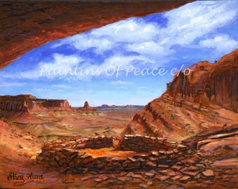 Sacred Kiva  11 x 14 Print -FREE SHIPPING this WEEK