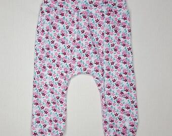 Harem Pants, Baby Girl, Toddler, Spring,leggings  3  to 12 M