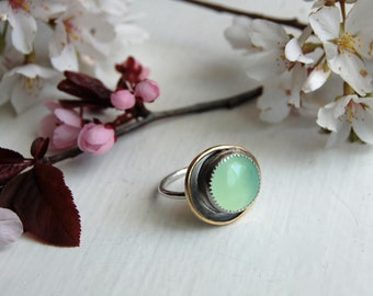 Old Town Chalcedony Ring