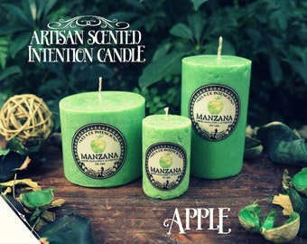 Apple Intention Candle* - Artisan Scented Candle for Love, Healing & Youth