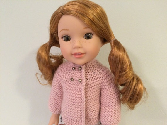 14 Doll Knitting Pattern Fits American Girl Wellie Wisher Dolls