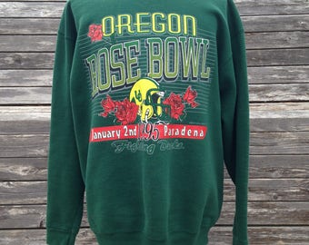 vintage Oregon Ducks 1995 Rose Bowl sweatshirt - XL - University football