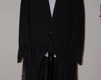 Steampunk Lacey tailcoat size 44R