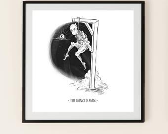The Hanged Man - Tarot Art Print