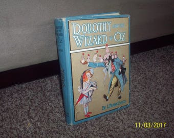 6 Wizard of Oz books first edition collection