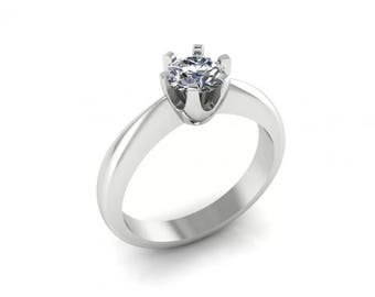 18 ct gold Solitaire