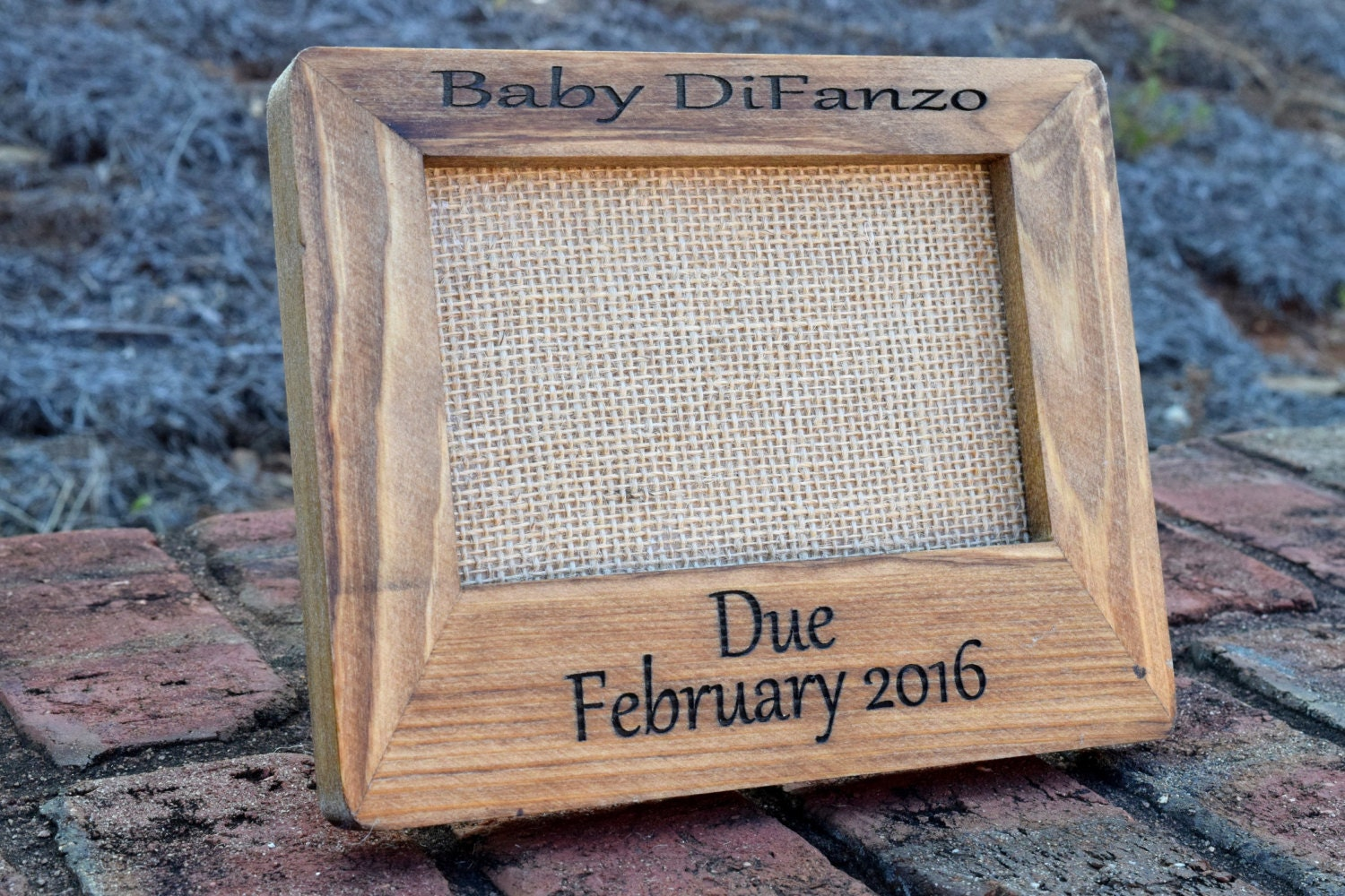 Ultrasound picture frame custom engraved picture frame request a custom order and have something made just for you jeuxipadfo Choice Image