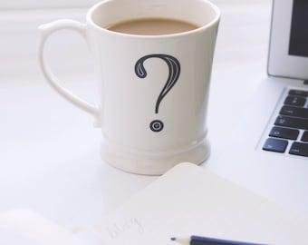 Question Mark Mug