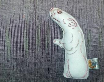Fancy Rat Art Doll