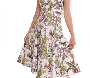 Summer Wedding Party Dress Sweetheart Neckline Hummingbird