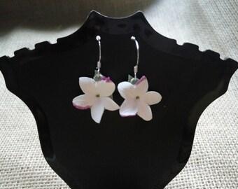 Jasmine Silver Earrings - Silver earrings - Sterling Silver - Jasmine - Jewelry - earrings flowers - Handmade - Flowers - Handmade jewelry