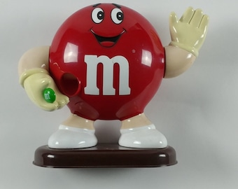 M&M Red Waving Candy Dispenser from 1992.