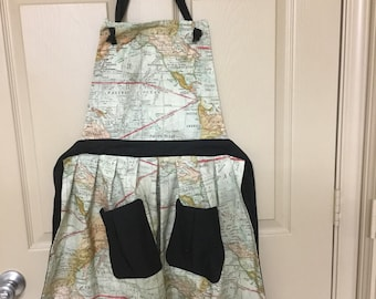 Map Apron - Full Size