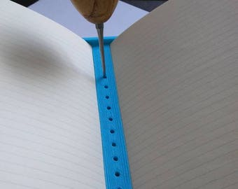 3D Print Awl Guide for Bookbinding