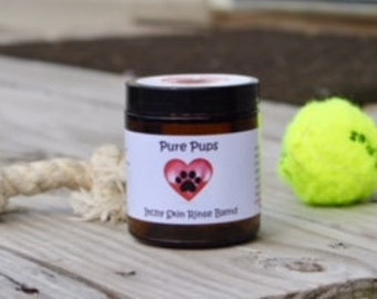 Itchy Skin Rinse Blend for Dogs, organic, natural, vegan