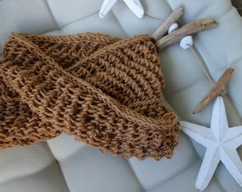 Snood Scarf | Cowl Scarf | Knit Snood Scarf | Knit Neck Warmer | Knit Loop Scarf | Knit Infinity Scarf | Winter Scarf | Womens Wrap