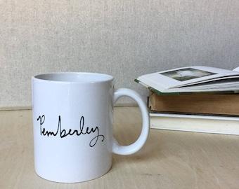Pemberley Mug
