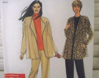 Simplicity 8348 Jacket and Pants Pattern - Uncut