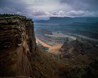 Moab Utah Photography, Canyonlands Fine Art Print, Colorado River Photo, Dead Horse Valley, Large Fine Art Print