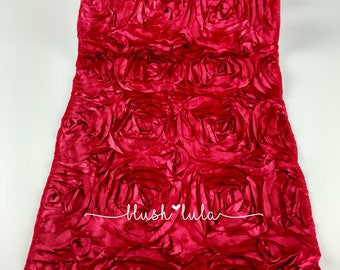 Rose Cluster Runner for Wedding Event Decor Romantic Wedding Candy Red