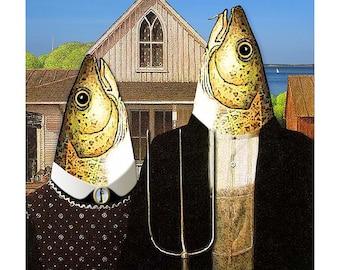 Cape Cod Gothic (framable art cod)