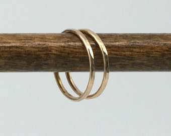 14k Gold Filled Stacking Ring