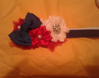 july 4th hairbow