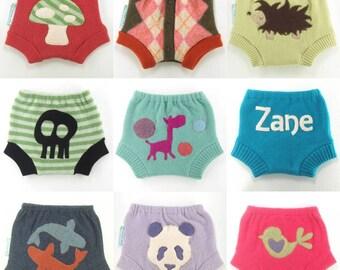 WOOL SOAKER Custom Wool Diaper Cover