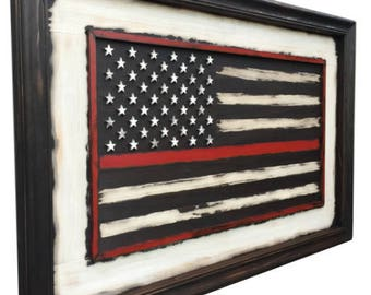 Old Glory Thin Red Bold Freedom American Flag