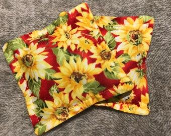 Microwave hand warmers/booboo bag - Sunflowers