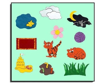 Cat's Colors/Pre-K/Kindergarten/Storytelling Set/for/Teachers/Parents/Vibrant Colors