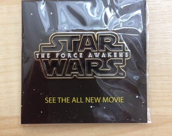 "Star Wars ""The Force Awakens"" Pin"
