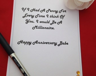 Anniversary cards luxury happy anniversary cards for boyfriend