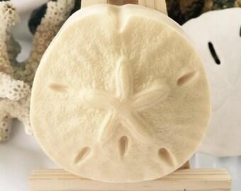 Sand Dollar Soap - Seashell Soap - Beach Soap - Beach House Soap