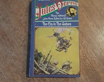The City in the Sahara by Jules Verne (1960) sci-fi paperback