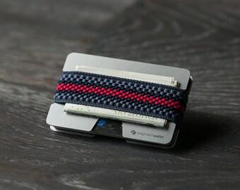Wallet, credit card wallet, men's and women's wallet, aluminum slim wallet, minimalist wallet, modern design wallet, N wallet