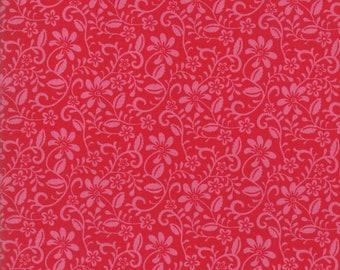 Spellbound Wander in Scarlet Red,  Urban Chiks, 100% Cotton, Moda Fabrics, 31114 11
