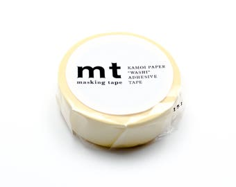 MT Masking Tape Pastel Yellow