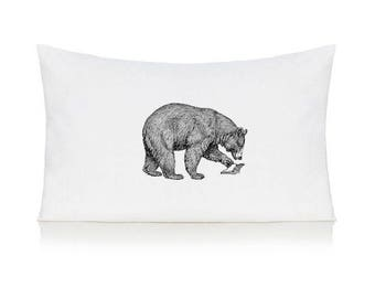 Bear pillow case, cushion, bedding, pillow cover