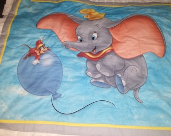 Toddlers/Childs Quilt, Dumbo & Fivel, Disney