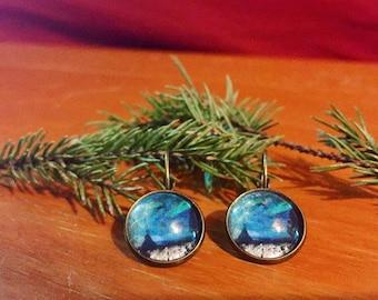 Northern Wonder Teepee Drop Earrings